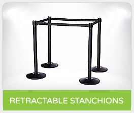 Shop Retractable Belt Stanchions