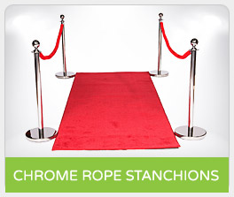 Shop Chrome Rope Stanchions